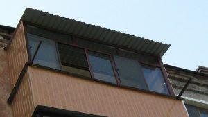Крыша на балкон Кривой Рог Фото