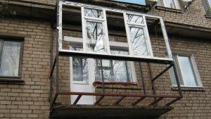 Строительство балкона кривой рог фото