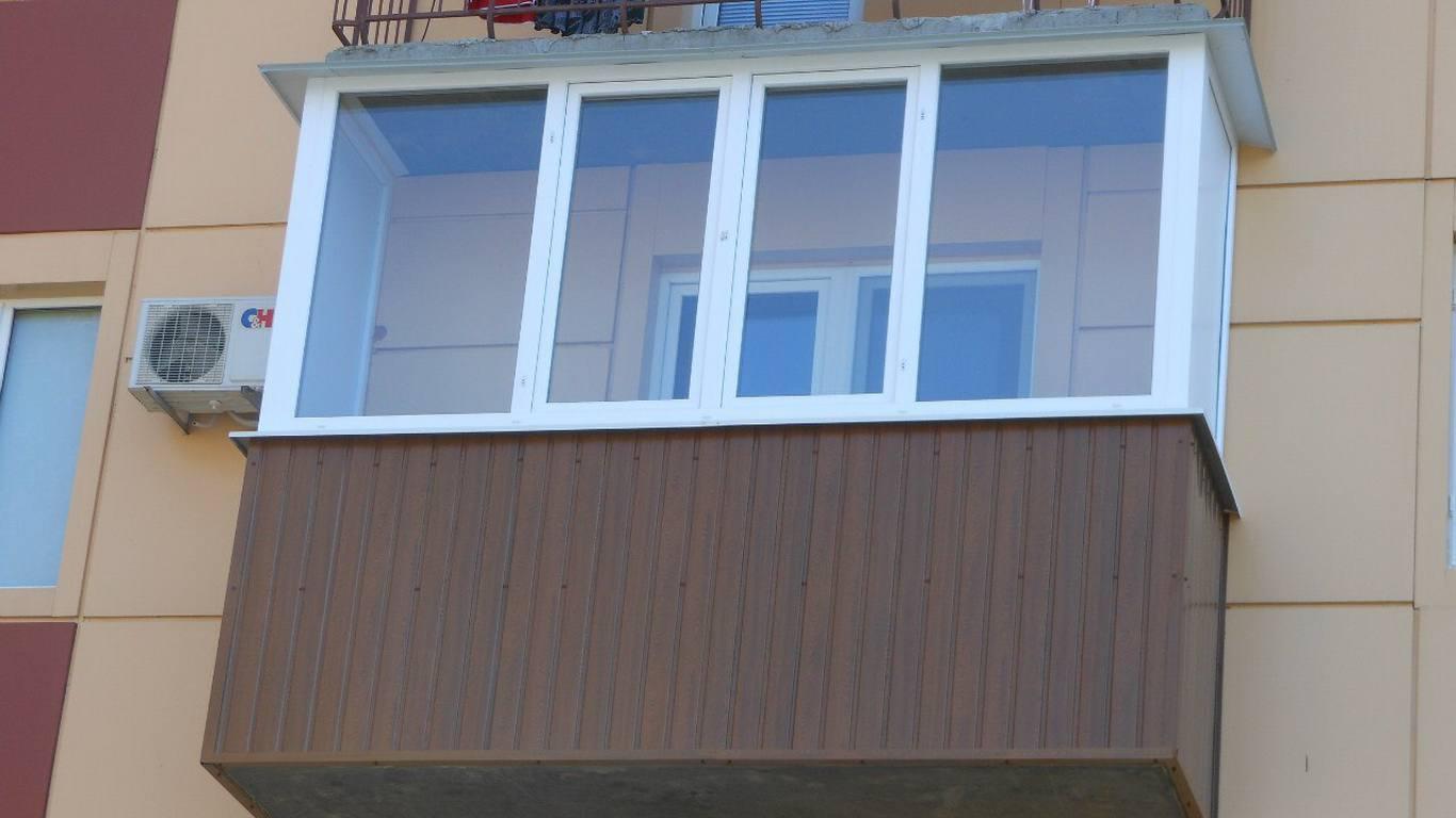 Обшить балкон профлистом цены.