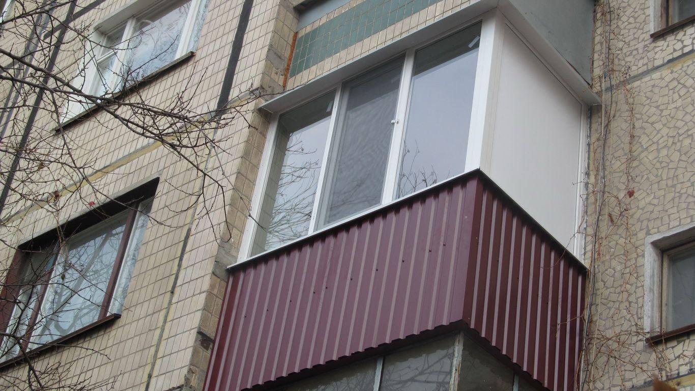 Внешняя отделка балкона фото 8