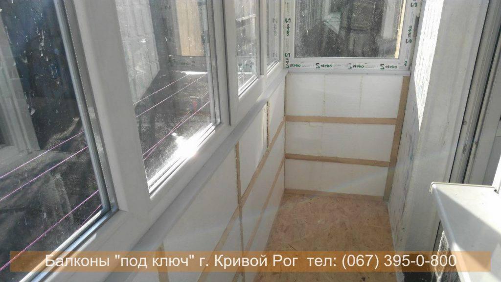 Отделка балкона внутри обоями - все самое интересное и полез.