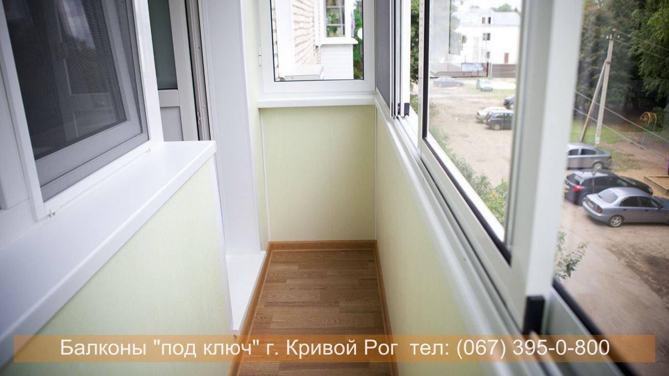 Остекление балконов - фото выполненных работ..