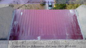 Крыша на балкон Кривой Рог