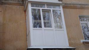 Французский балкон в сталинке