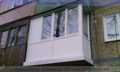 Французские балконы Кривой Рог Фото