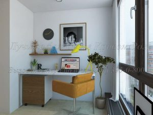 Сделать взрослый или детский кабинет на балконе