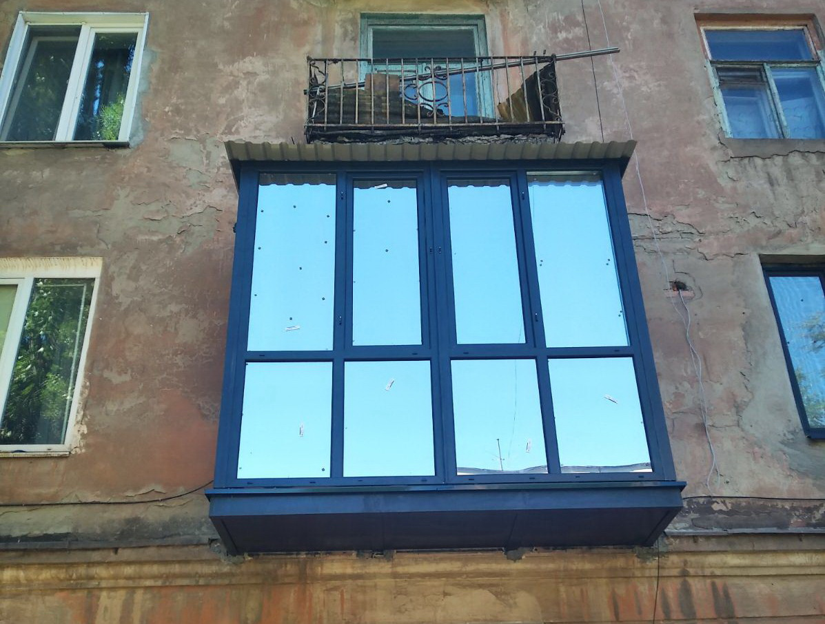 Французский балкон Кривой Рог Антрацит